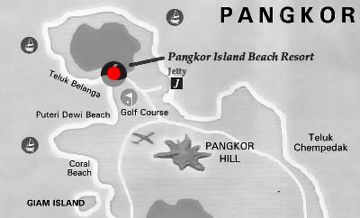 Pangkor Island Beach Resort, formerly known as Pan Pacific Pangor ...